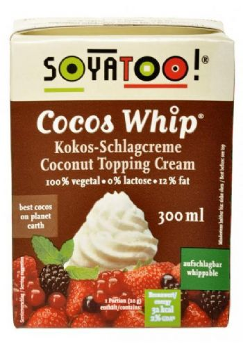 Soyatoo Whippable Coconut Cream 300ml